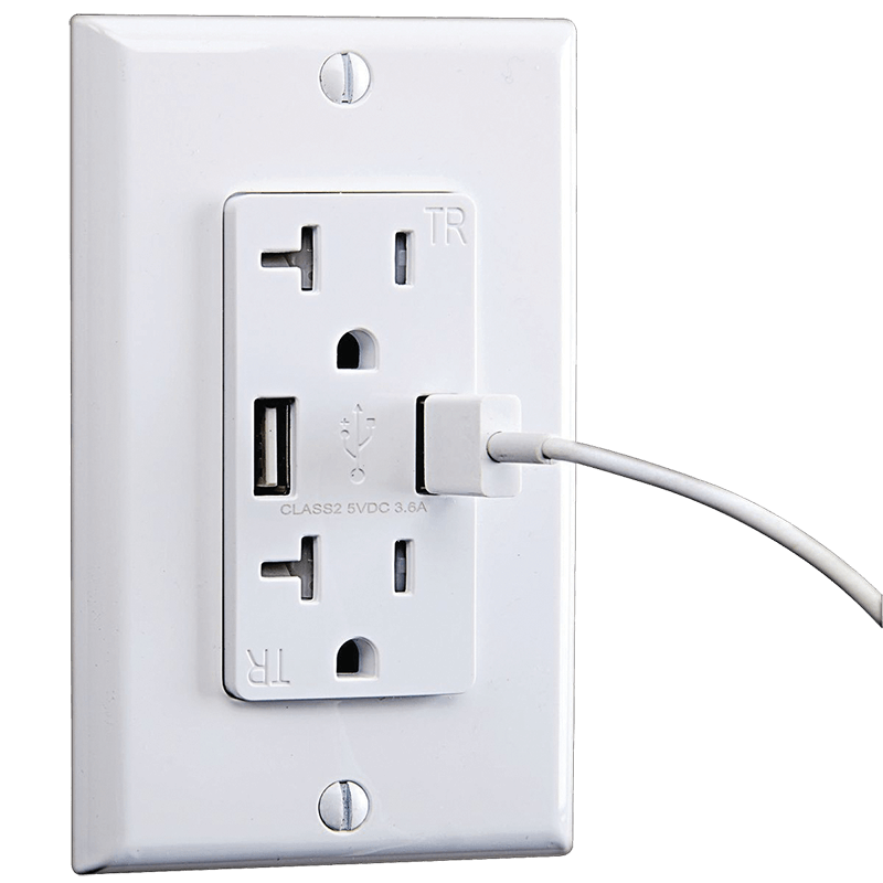 USB outlet