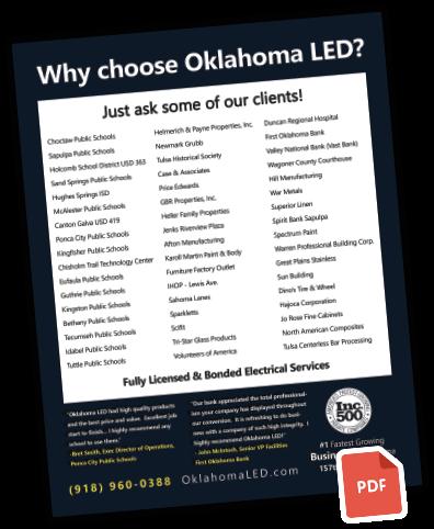 Why Choose Oklahoma LED PDF icon